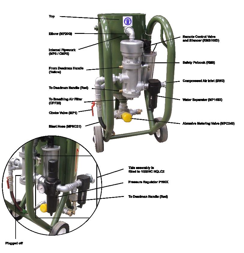 hodge clemco standard portable blasting recovery equipment rh hodgeclemco co uk Sandblasting Gun Clemco Dealers