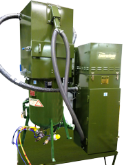 Closed Circuit Dustless Blasting Abrasive Recovery