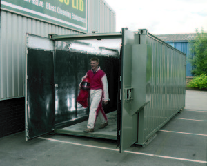 Safety Gas Can >> Containerised Blast Rooms