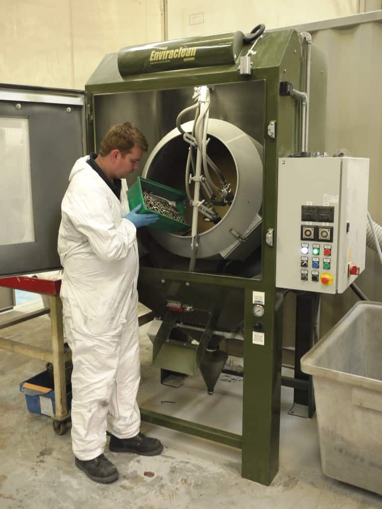 BLAST CABINETS BOOST SPECIALIST FINISHING CAPACITY