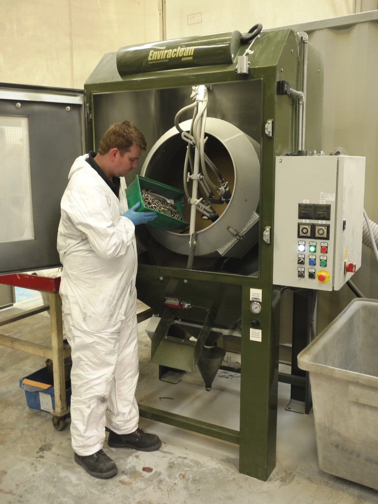 Clemco Industries Blast Cabinets Blast Cabinets Boost Specialist Finishing Capacity Hodge Clemco Ltd