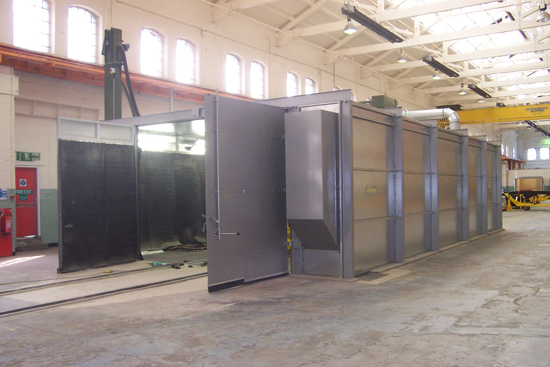 Abrasive Blast Rooms