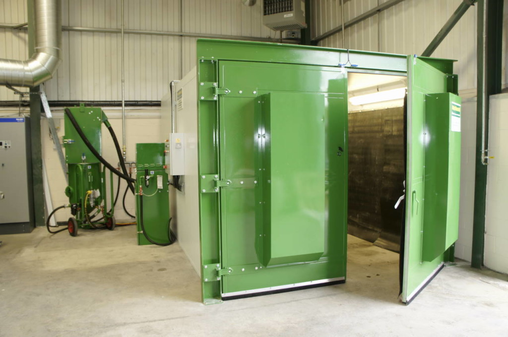 Acoustic Booths For Abrasive Blasting
