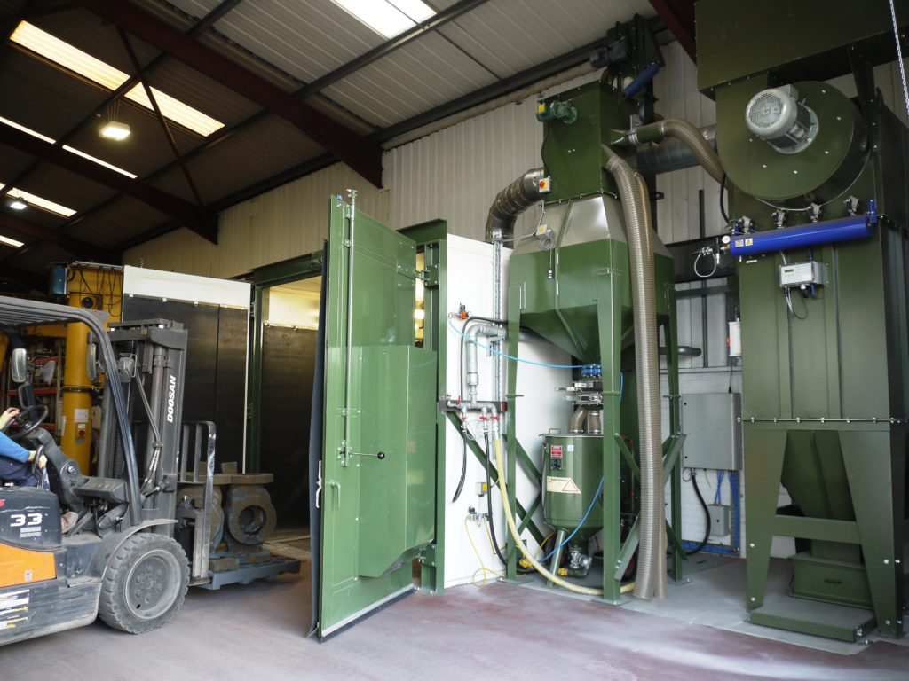 Blast Room Provides High Quality Finishing For Castings