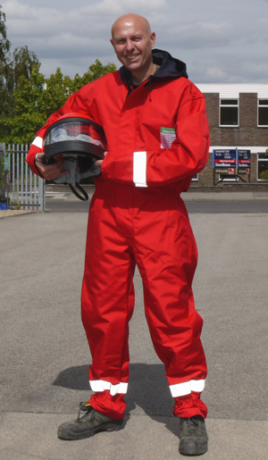 Hodge Clemco Launches First Fire Resistant Blast Suit