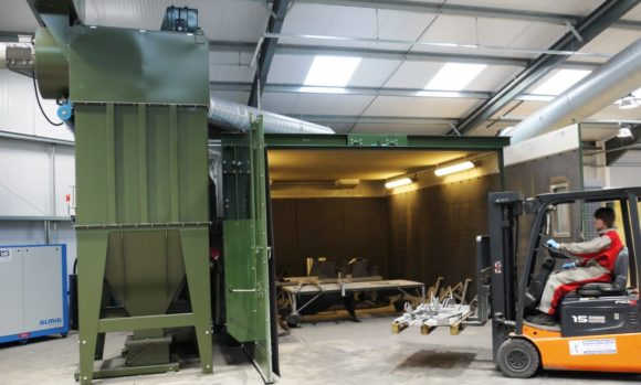 HODGE CLEMCO BLAST-ROOM ENSURES THE PERFECT FINISH