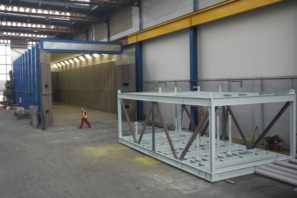 Giant Blast Room Expands Coatings Business Horizons